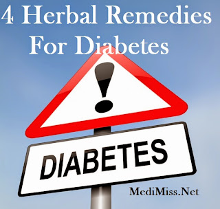 4 Herbal Remedies For Diabetes