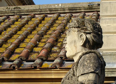 Roman statues, late 1800s