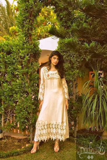 Nadia Farooqui Ladies Fancy Fall Collection 2013