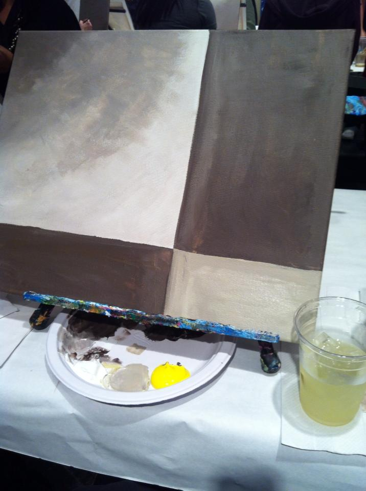 Handmade by cj wine and canvas for Wine and paint indianapolis