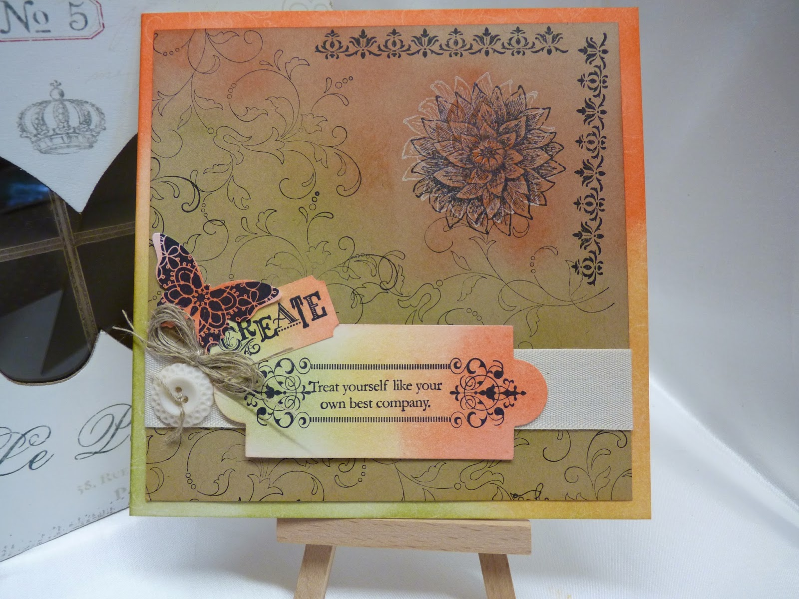 Creative Elements handmade card