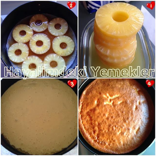 Ananaslı Kek nasıl yapılır