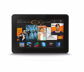 Kindle Fire HDX Mayday - A Mum in London