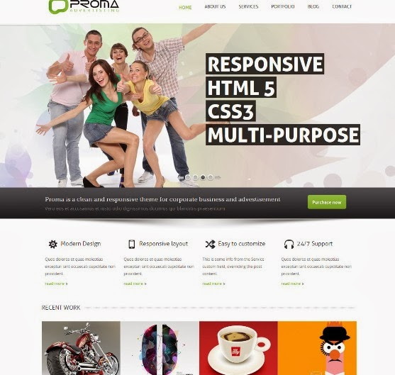 Proma Multipurpose WordPress Theme