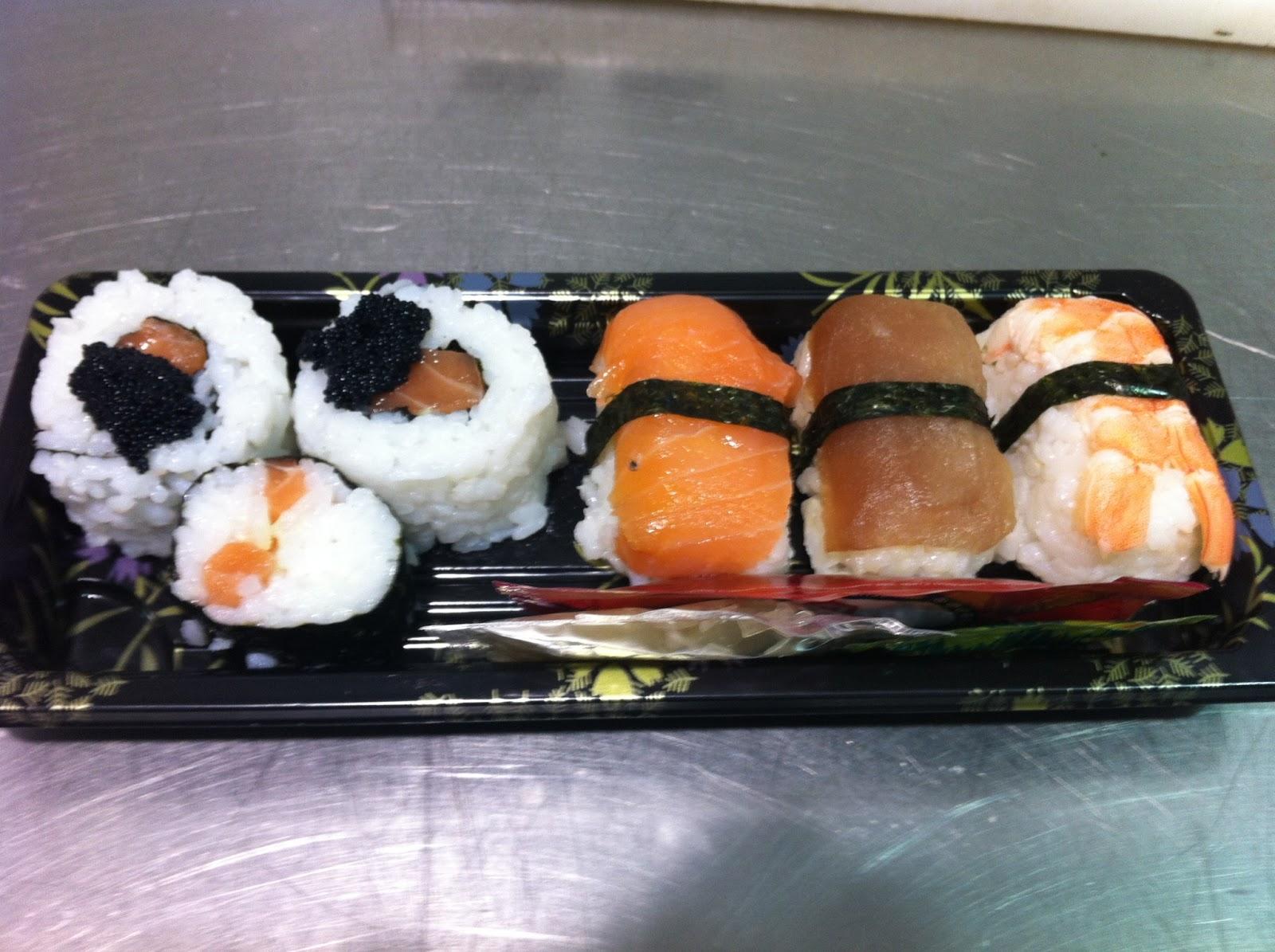 Hacer f cil lo dif cil sushi bandejas nominadas - Bandejas para sushi ...