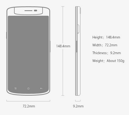 Spesifikasi Oppo N1 Mini