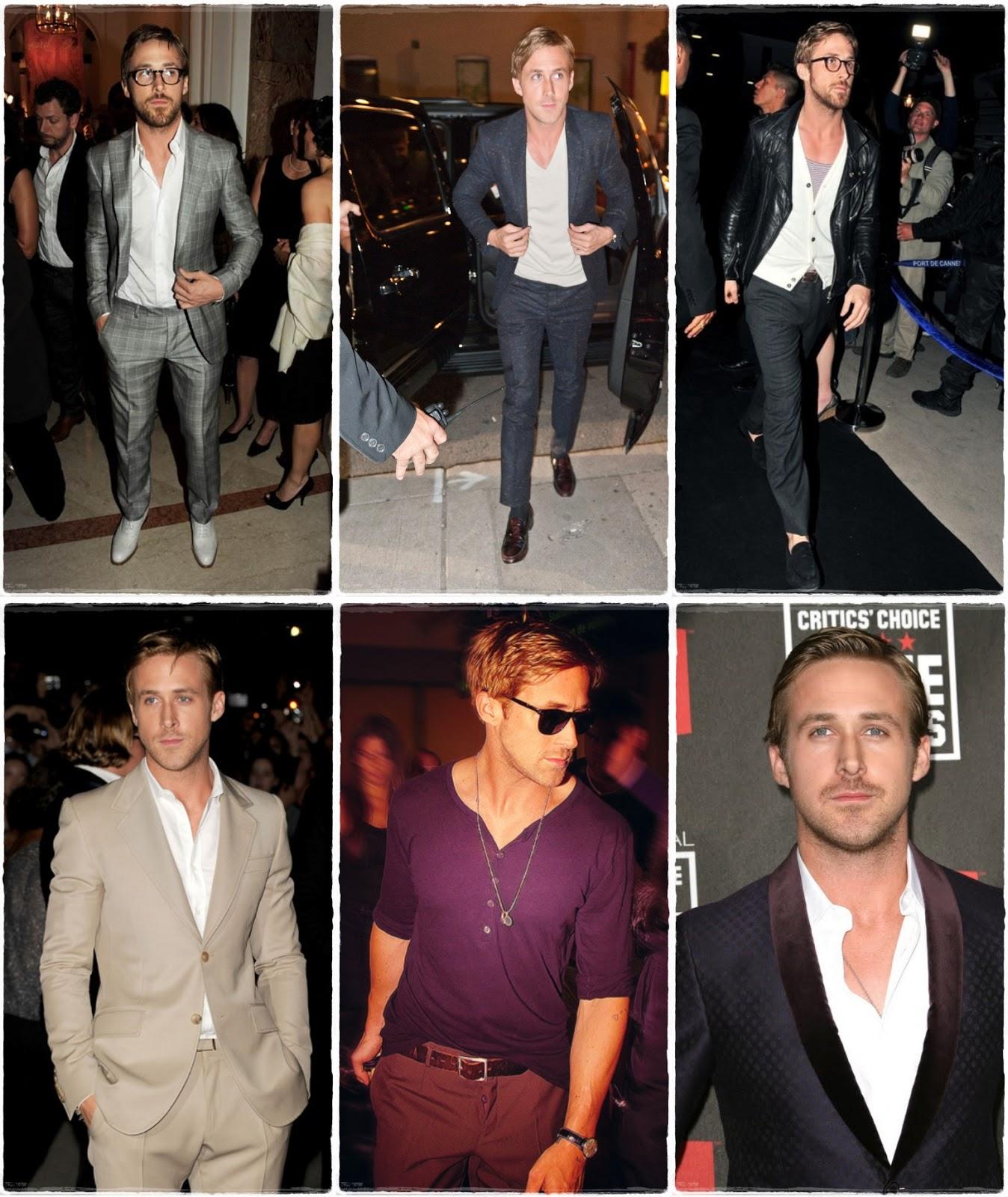 Ryan Gosling elegant style
