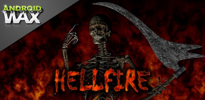 Hellfire Skeleton v5.1 live wallpaper android apk -free download
