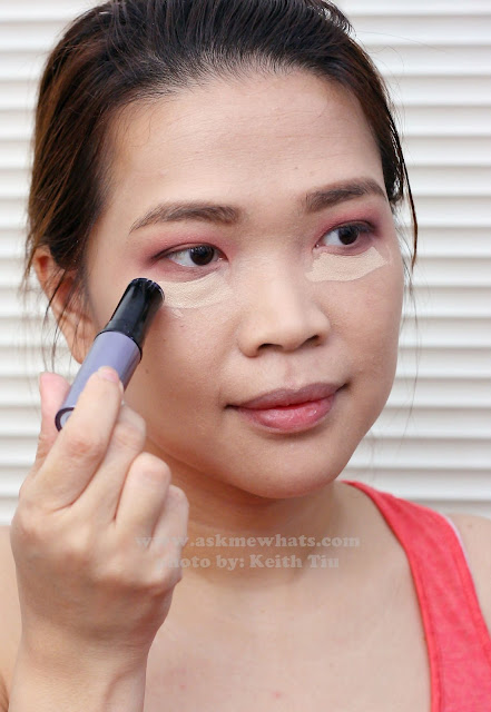 a photo of a Valentines Day Makeup tutorial using Benefit Play Stick