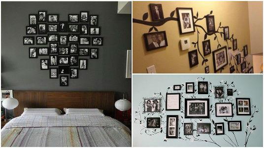 Ideas para decorar paredes con fotos - Ideas para decorar paredes con fotos ...