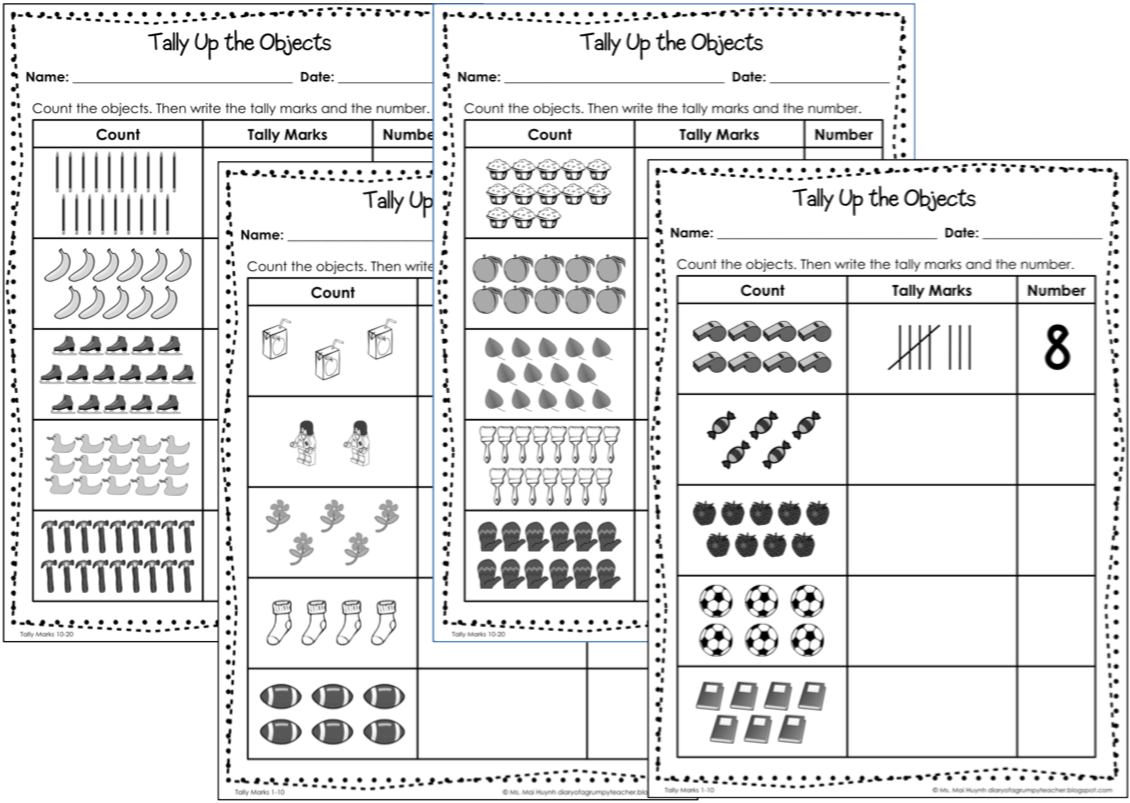 Uncategorized Tally Worksheets tally marks worksheets termolak worksheet 612792 mark for kindergarten