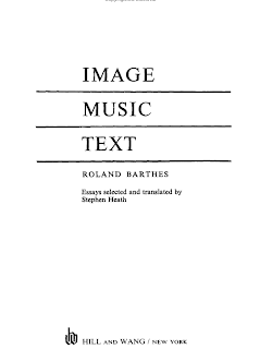 rhetoric of the image roland barthes essay