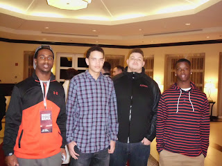 Ronnie Clark, Derek Kief, Matt Elam & Chris Williams