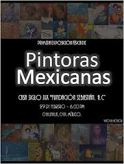 CATALOGO PRIMERA EXPOSICION PINTORAS MEXICANAS