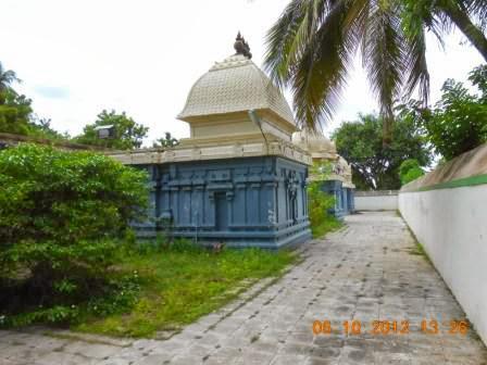 Sri Kadaimudinathar Temple, Tirukkadaimudi (Keezhaiyur), Mayiladuthurai - 275 Shiva Temples
