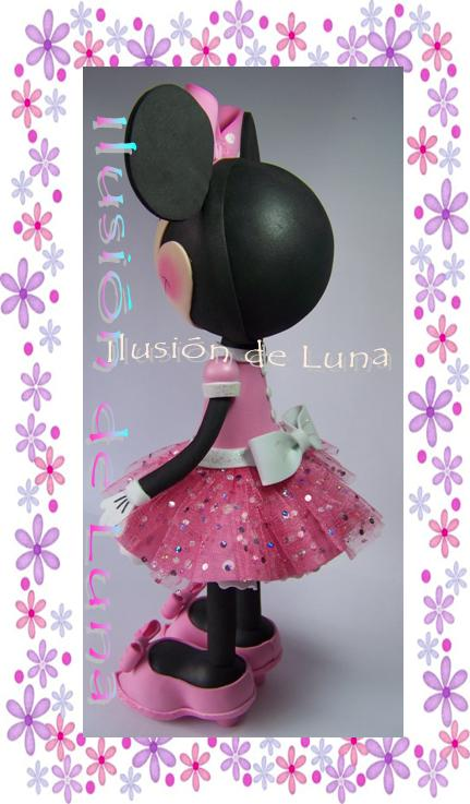 LABORES Y MANUALIDADES: Disfraz de Minnie