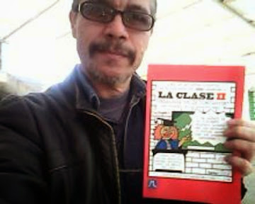 CARICATURISTAmemo ARGANDOÑA SÁNCHEZ y libro LA CLASE segunda parte.