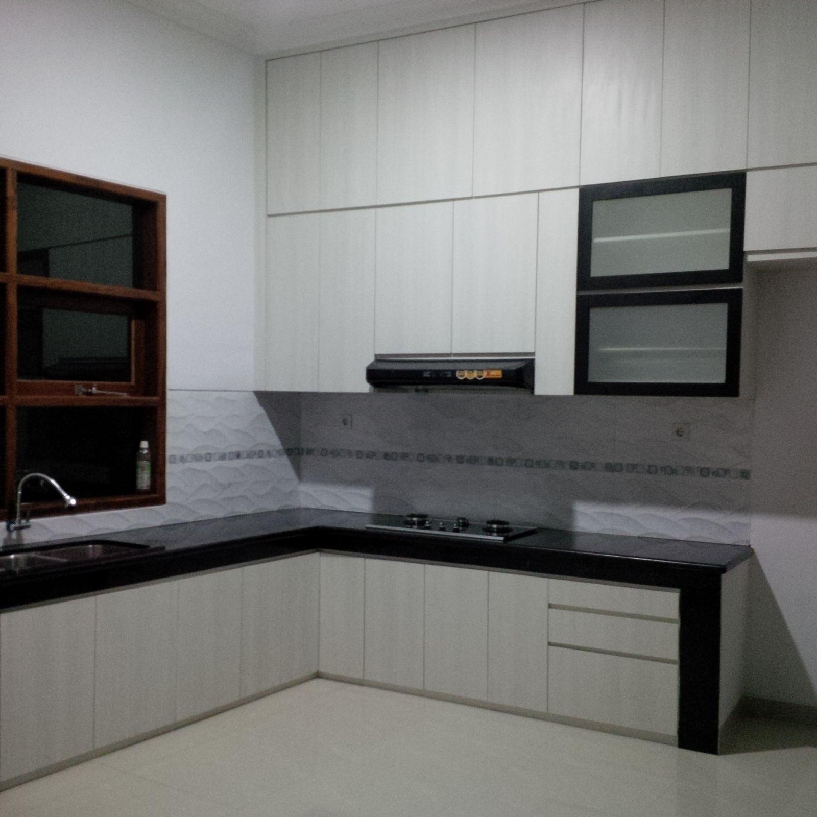 Aku bisa kitchen set for Kitchen set jadi