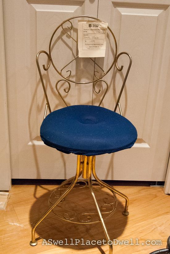Vanity Chair Before