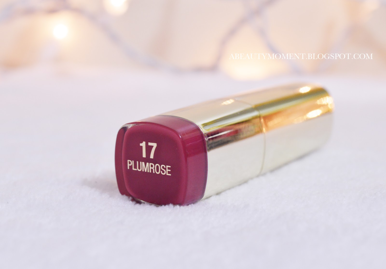 A Beauty Moment: MILANI COLOR STATEMENT LIPSTICK IN PLUMROSE