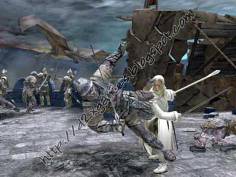 Free Download Games - The Lord Of The Ring The Return Of The King