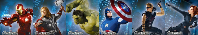 THE AVENGERS NEW MOVIE POSTER 2012