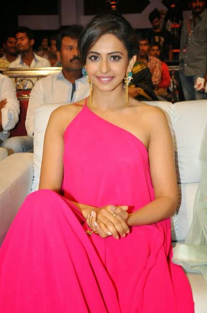 Rakul Preet Singh Stills At Pandaga Chesko Audio Launch
