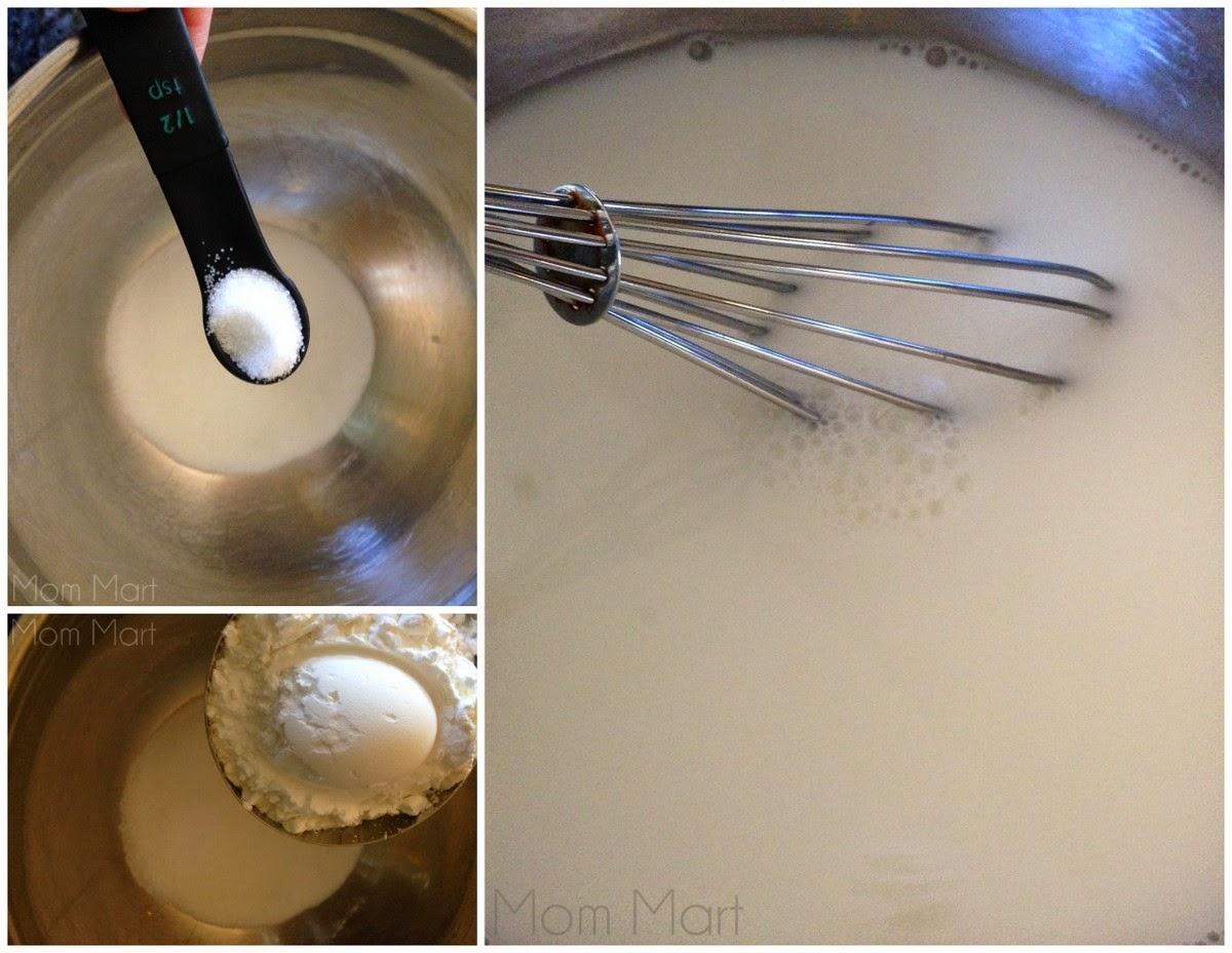 DIY Homemade Finger Paint #Recipe #DIY #Homemade #Tutorial #CraftsForKids