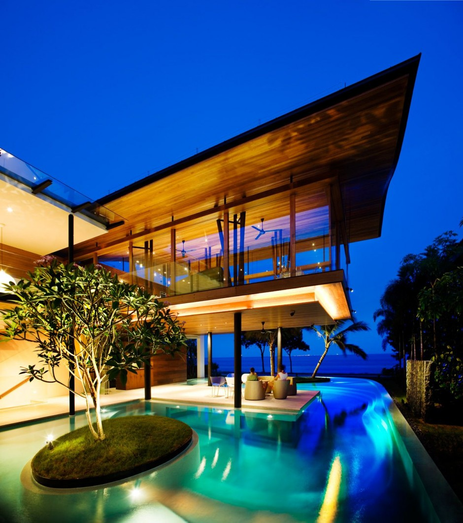 Modern Luxury Tropical House Most Beautiful Houses In The World - Most beautiful houses in the world