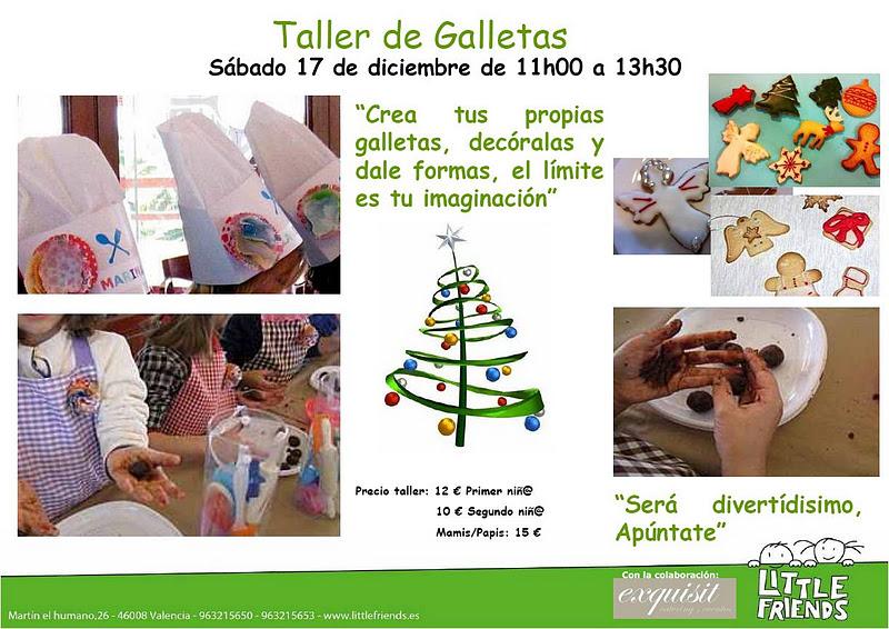 Este Próximo Sábado 17 De Diciembre Estaremos Dando Un Taller De Galletas De  Navidad En El Centro De Educación Infantil Little Friends En Valencia.