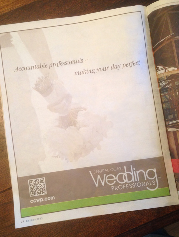 Newspaper Advertising - New Times Bridal Issue - Studio 101 West Marketing & Design