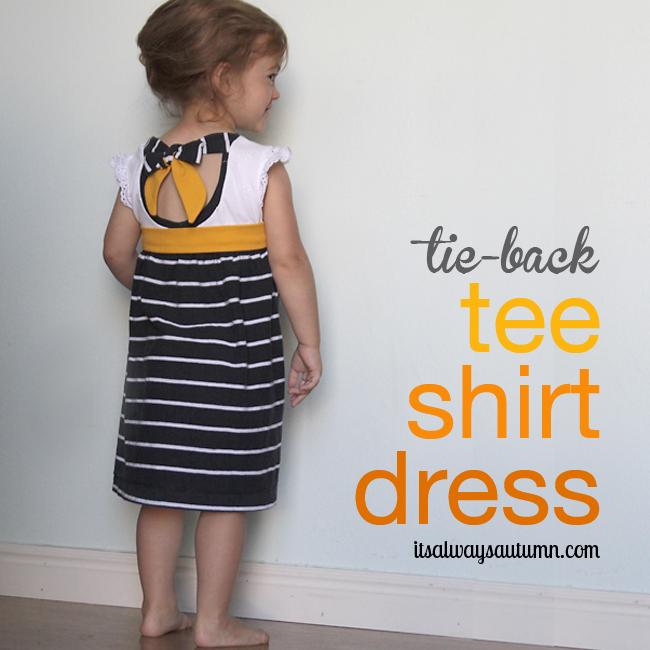 http://www.itsalwaysautumn.com/2013/07/12/tie-back-tee-shirt-dress-an-easy-upcycle.html