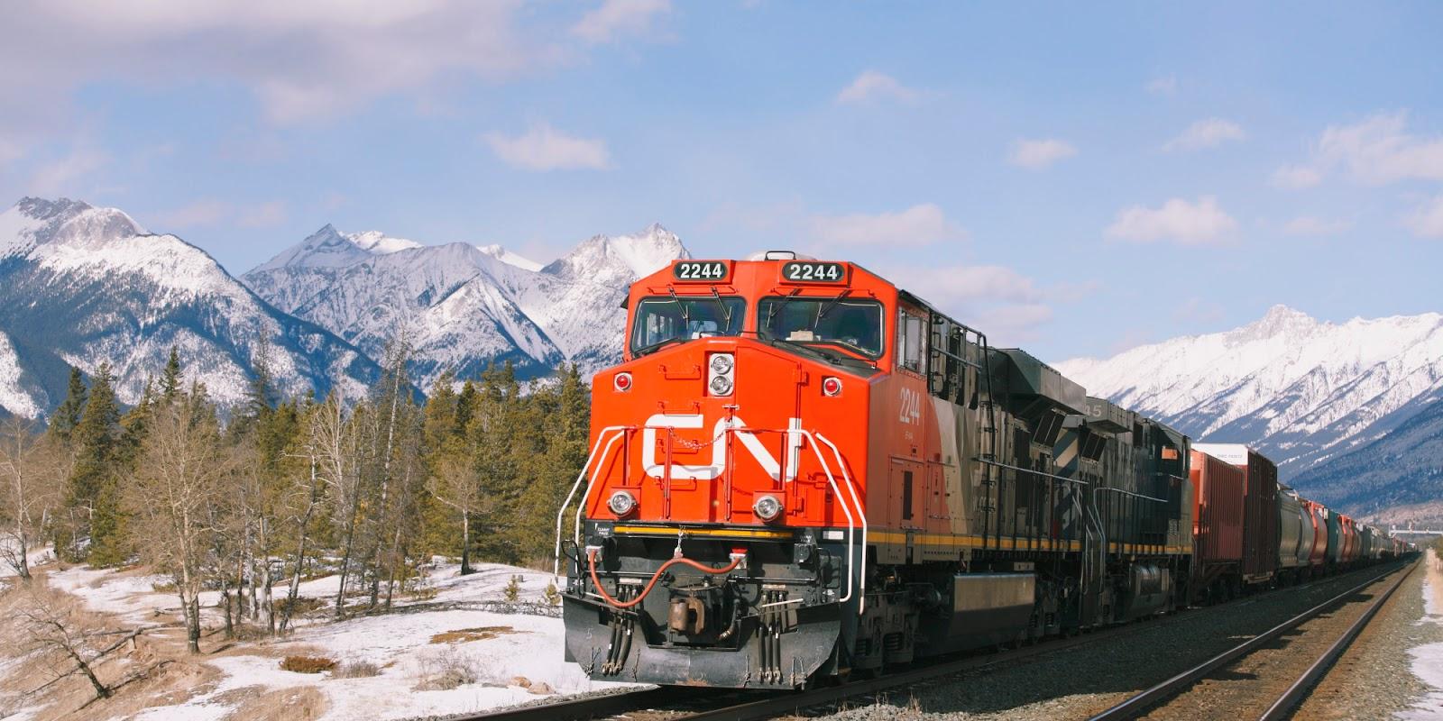 Gambar Kereta Api Lengkap