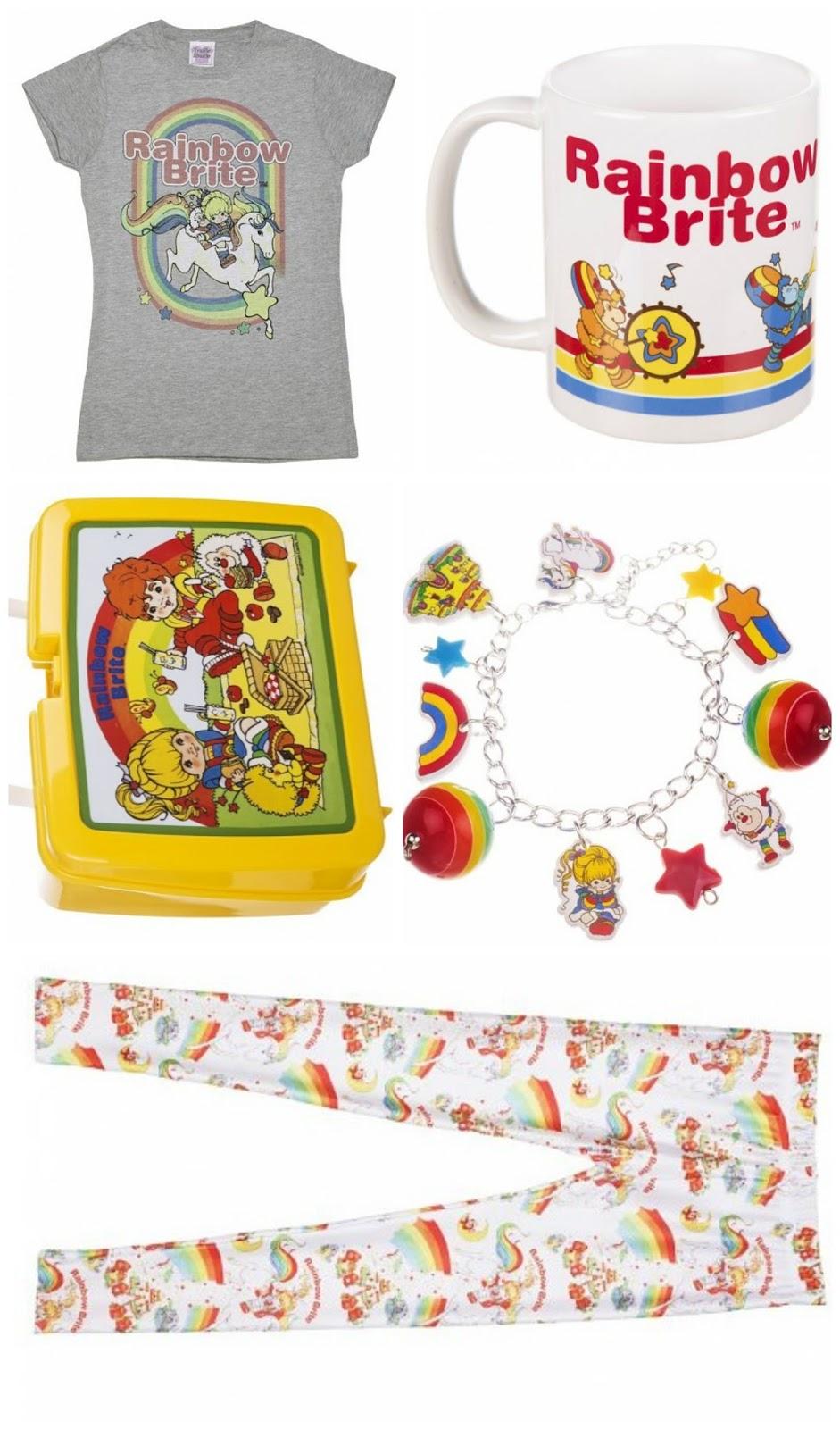 Rainbow Brite accessories