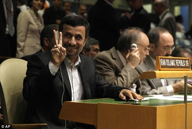 Ahmadinejad, président de l'Iran à l'ONU