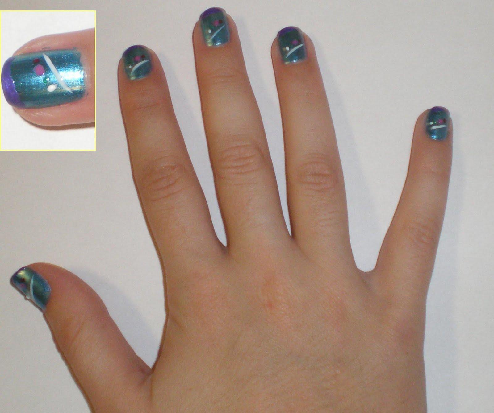 My FB Corner / La moda y la belleza: Mi segundo diseño de uñas