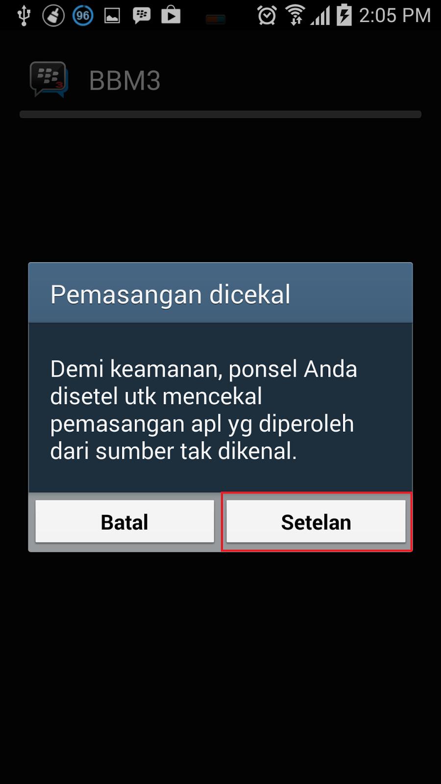 instal bbm3