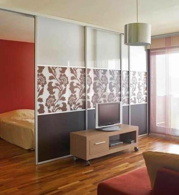10 ideas para separar ambientes colores en casa - Puertas correderas para separar ambientes ...