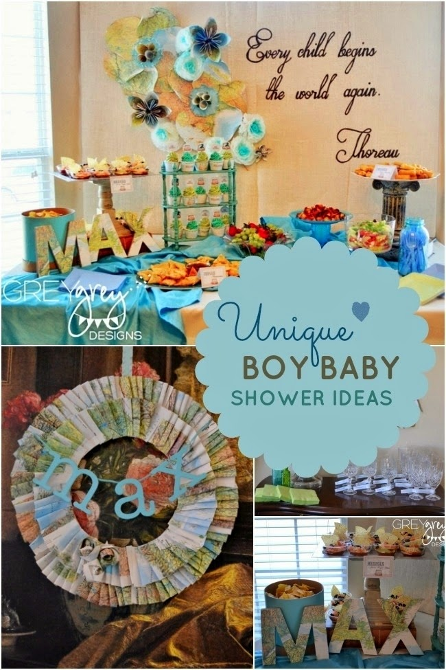34 Awesome Boy Baby Shower Themes