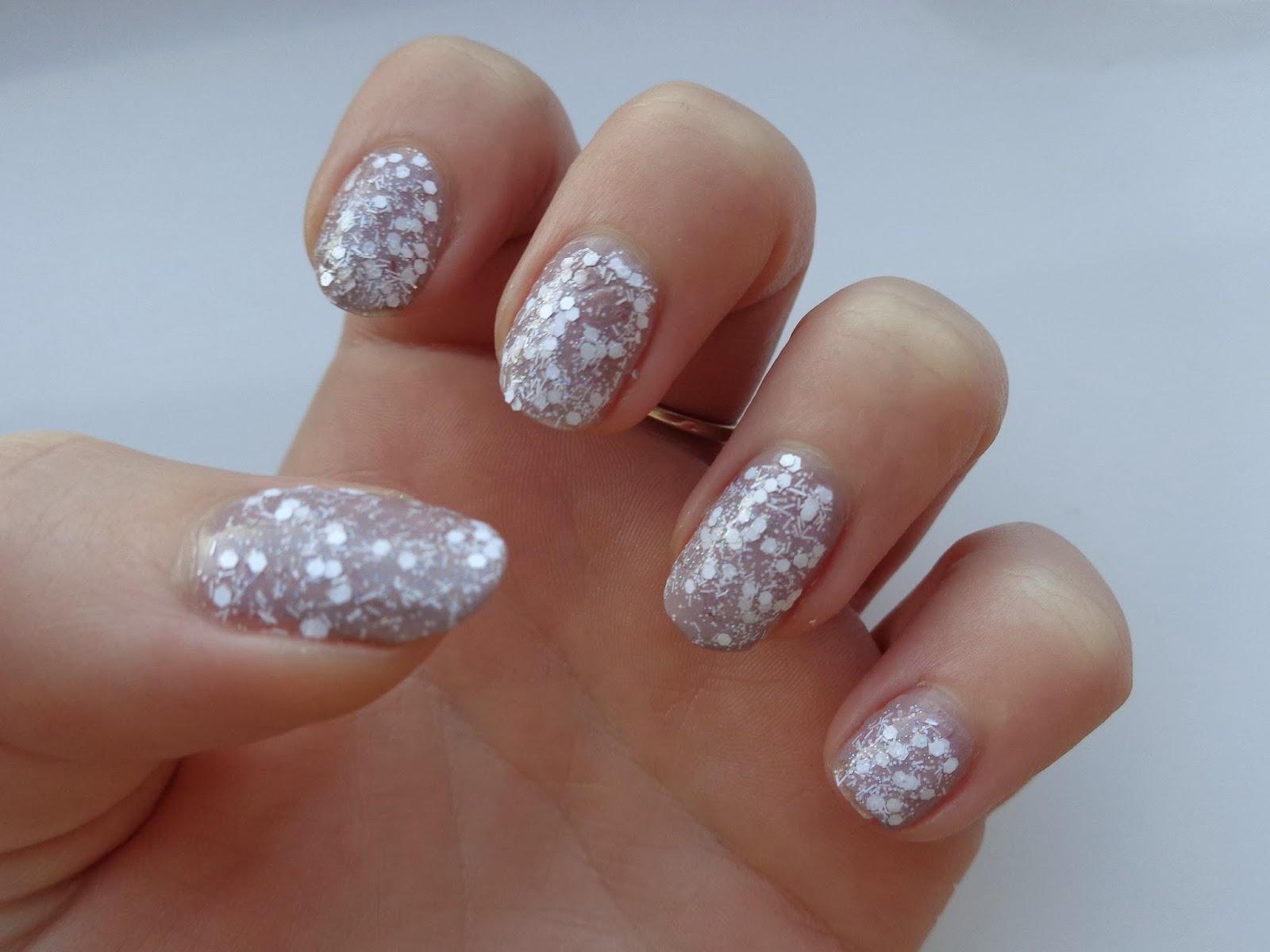 NOTD: Nails Inc Snowflake - Jenna Suth
