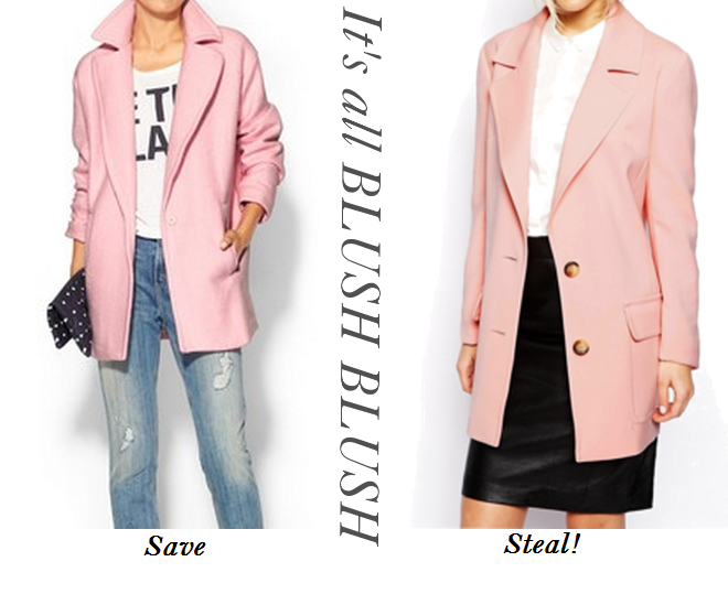 Blush Pink Coats, Blush Pink wool Coats, Pink coats for winter, Top Fall Fashion Trends
