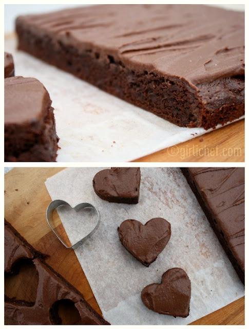 Chocolate Fudge Brownies w/ Chocolate Buttercream Frosting {Joy the ...