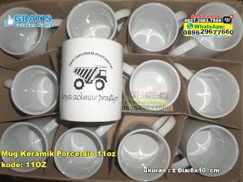 Mug Keramik Porcelain 11oz grosir