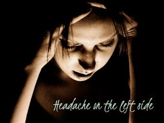 Left sided headache