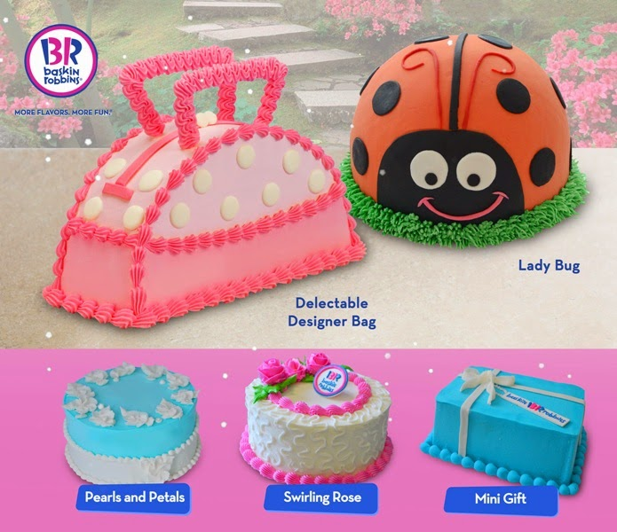 Baskin Robbins Design Your Own Cake : Celebrate Mother s Day with Baskin-Robbins and Solane ...