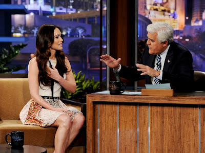 "Megan Fox on ""The Tonight Show with Jay Leno"" in Los Angeles- 13 Pics"