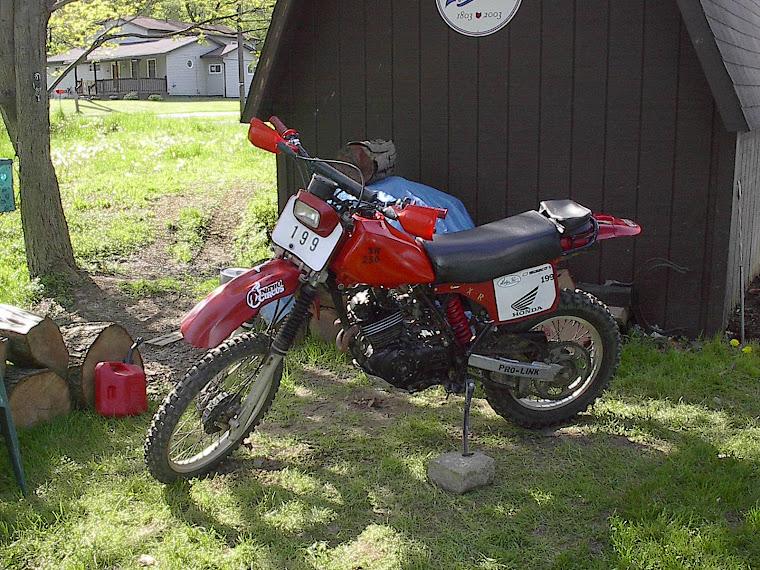 my Honda XR250R