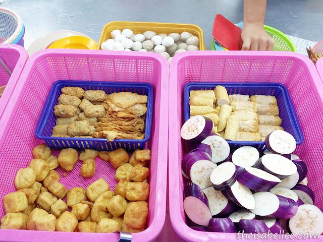 Brinjal slices at Restoran Yong Tau Fu @ Batu 14 Puchong