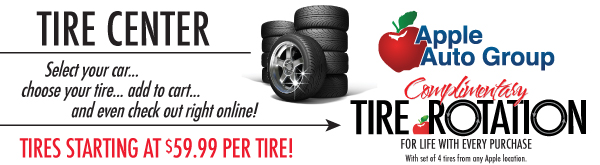Apple Auto Group Tire Center, Apple Valley Ford Lincoln Tires Center, Apple Ford Shakopee Tire Center, Apple Suzuki Shakopee Tire Center, Apple Chevrolet Buick Tire Center