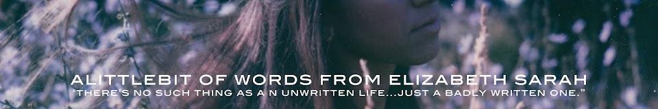 alittlebit of words